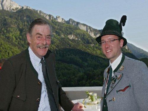 Rasso v. Cramer-Klett und Claus Reiter